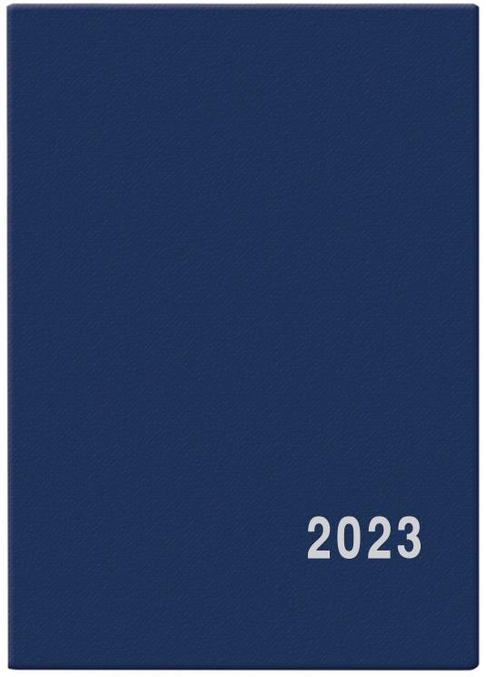 Diář měsíční Anežka PVC modrý