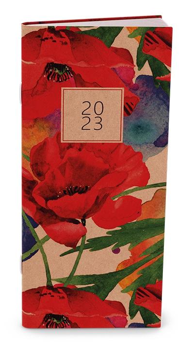 Diář měsíční Božka Craft květy
