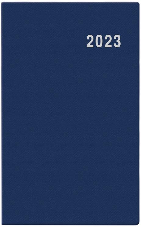 Diář měsíční Diana PVC modrý