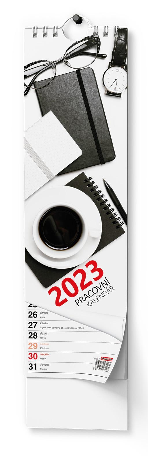 Kalendář nástěnný Kravata Pracovní