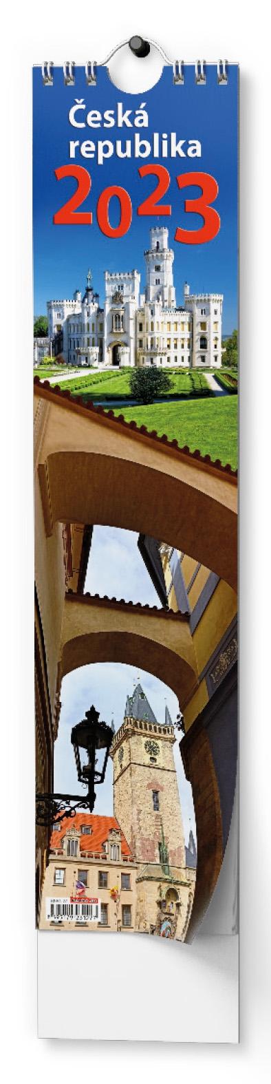 Kalendář nástěnný Kravata Česká republika