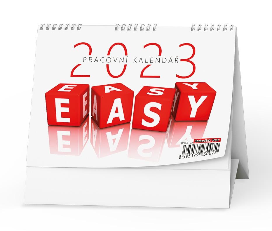 Kalendář stolní pracovní Easy